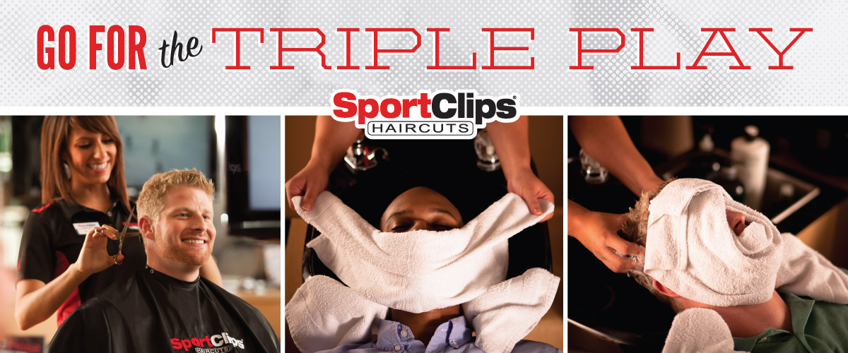 The Sport Clips Haircuts of Ballwin Triple Play